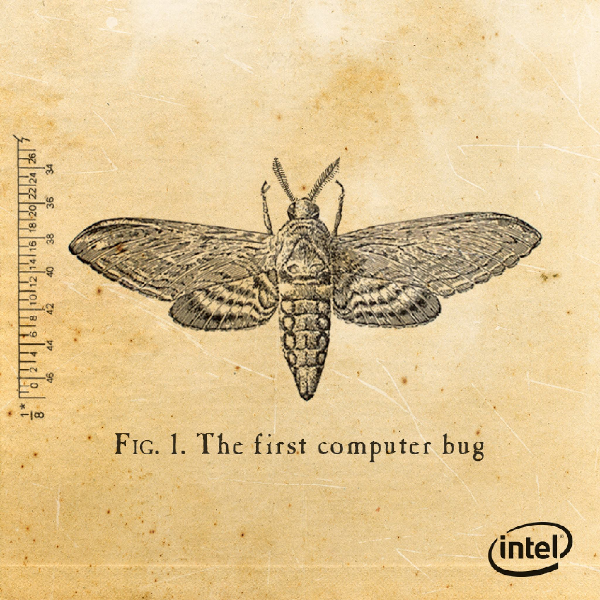 Cheaper computer - Did You Know The First Documented Computer Bug Was An Actual Moth Found