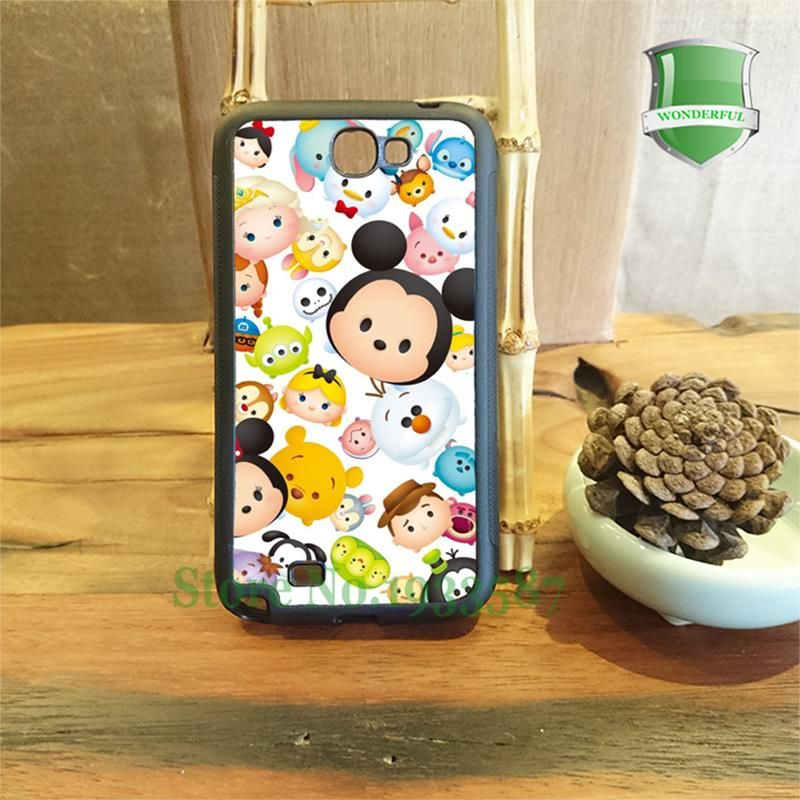 Tsum tsum mobile téléphone cas pour Samsung S3 S4 S5 S6 S6edge ...