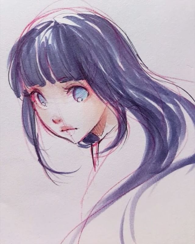 6min sketch in 30 seconds✧ Such a stressful day today *^* _ more sketches every day on Patreon! patreon.com/ladowska  #sketcheveryday #drawing #sketchbook #pencil #copic #copicmarkers #traditionalart #hinata #animegirl #anime #manga #mangagirl #illustration #illustrationart #漫画 #アニメ #スケッチ #お絵かき