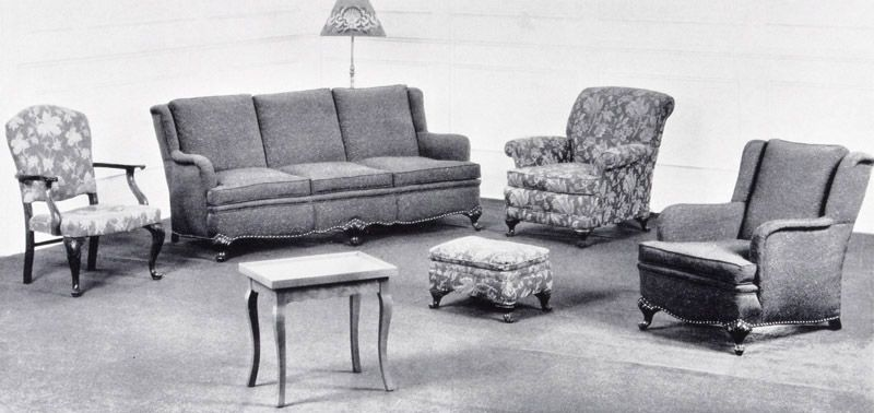 Living Room At 280 Dufferin Ave London Ontario Canada 1930s