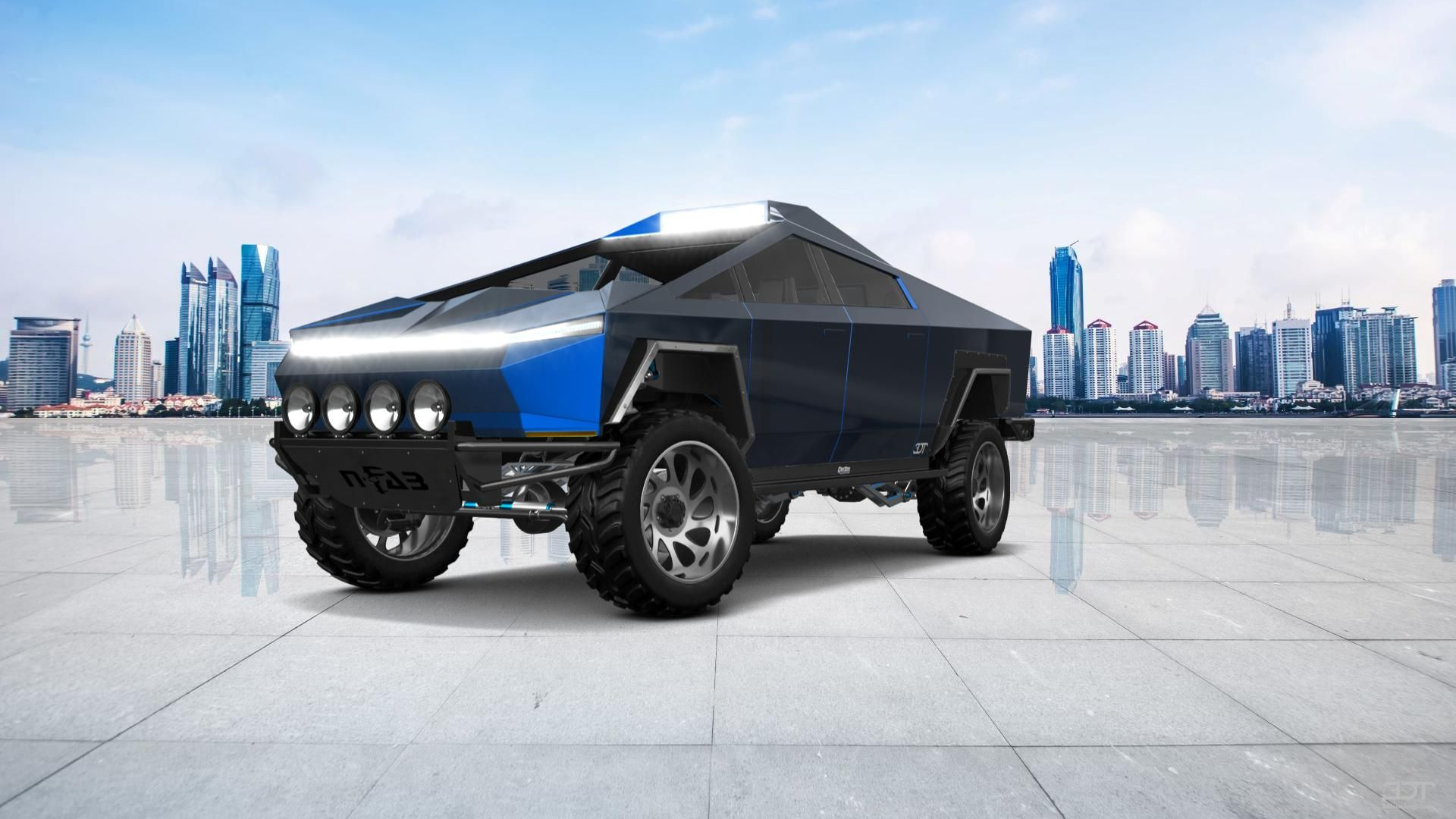 Checkout My Tuning Tesla Cybertruck 2021 At 3dtuning 3dtuning