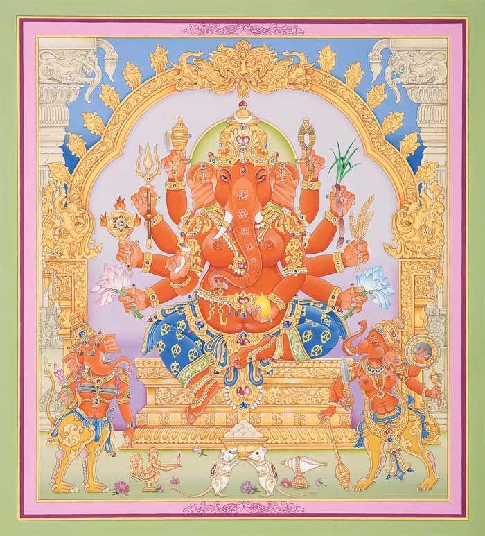 danielwamba:  GANESH  Deity Artnarasimhadeityart.com (femal ganesh)