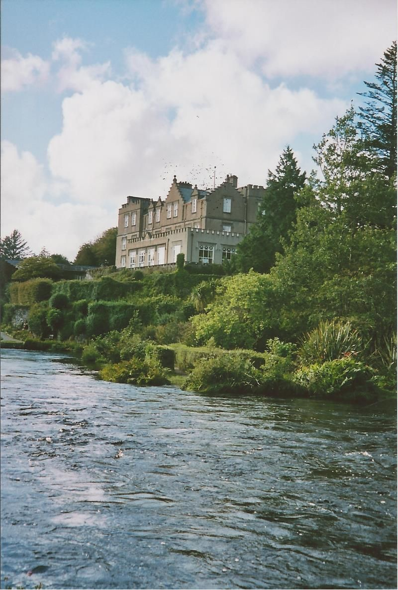 Ballynahinch Castle in Ireland