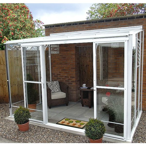 Robinsons Radstock Lean To Greenhouse Home Lean To