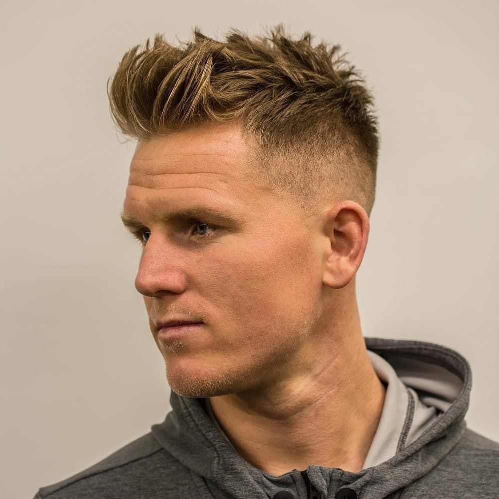 To Add Thickness To Fine Hair Try This Textured Spikes Menshairstyletrends Shorthaircutsform Mens Haircuts Short Long Hair Styles Men Mens Hairstyles Short
