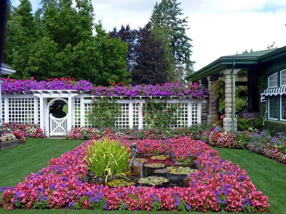 Jardines hermosos en Canada el Butchart iLuz Amor Esperanza