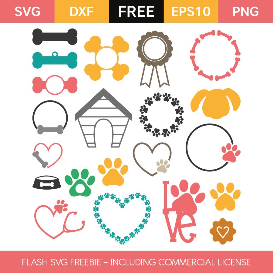 Flash Freebie Free Commercial License Monogram frame