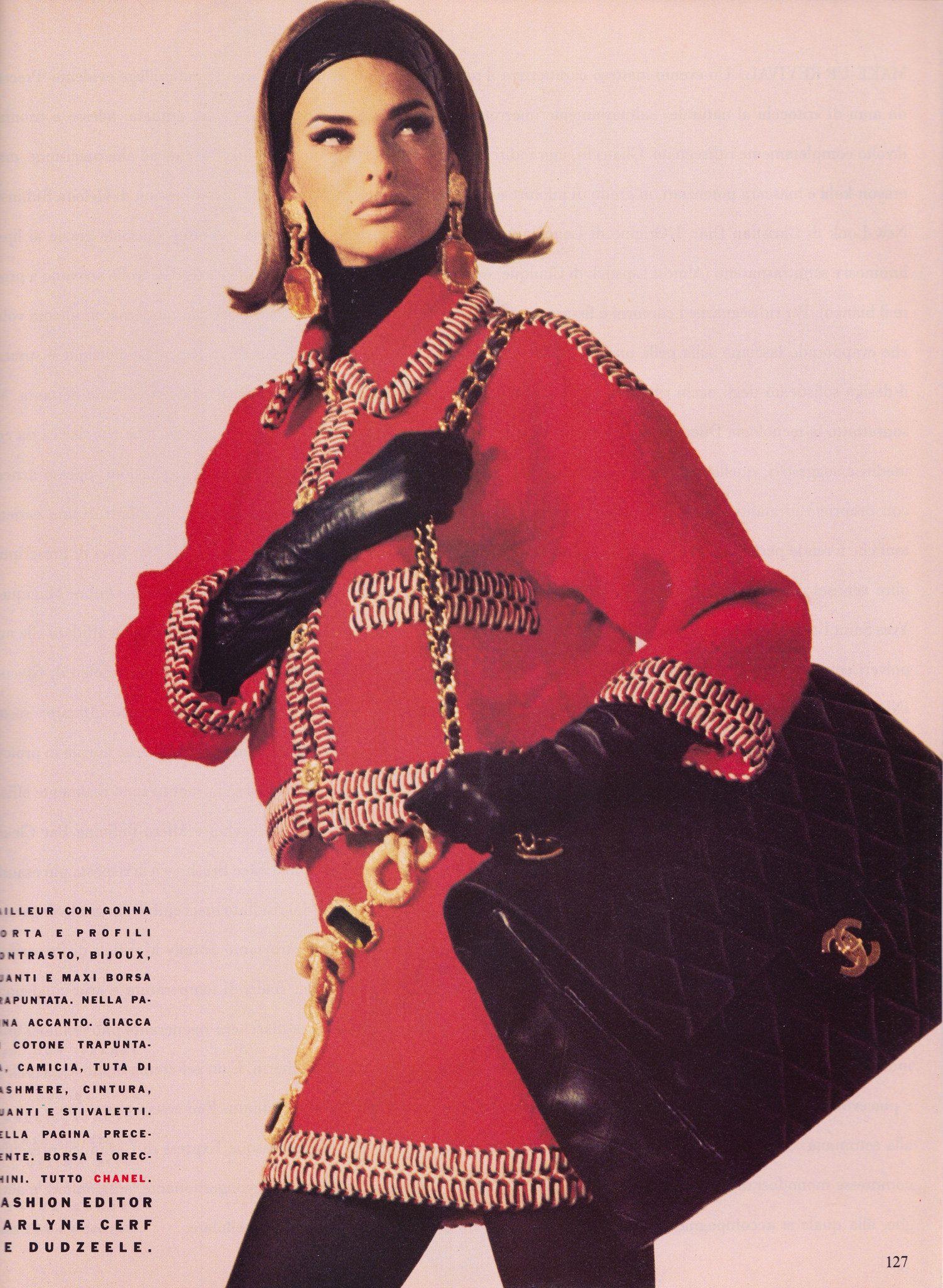 Photo of Vogue Italia Luglio-Agosto 1990