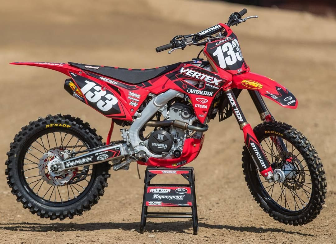 The Latest Crf 250 Build For Vitalmx Source Ig Fmf73