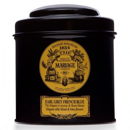 WEDDING IMPERIAL/® Mariage Fr/ères tin Black classical sealed 3.52oz 100gr canister
