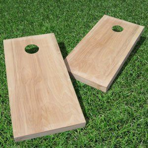 Hubster wants to put a picture of Dad's face on the cornhole with the opening as his mouth!  Not sure how we'll sneak that picture, but it's worth a try.