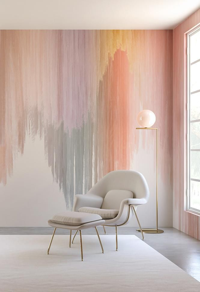 Photo of WALLPAPER: WAVELENGTH MURAL // BOMBOLEO – drop it MODERN – M