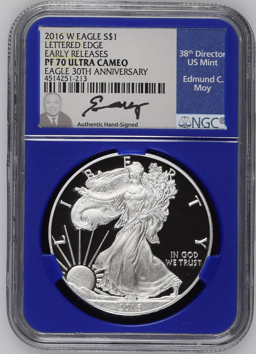 2016-W American Silver Eagle Proof NGC PF70 UCAM