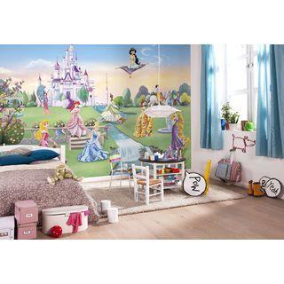 Fototapete Princess Castle 368x254 cm Kinderzimmer