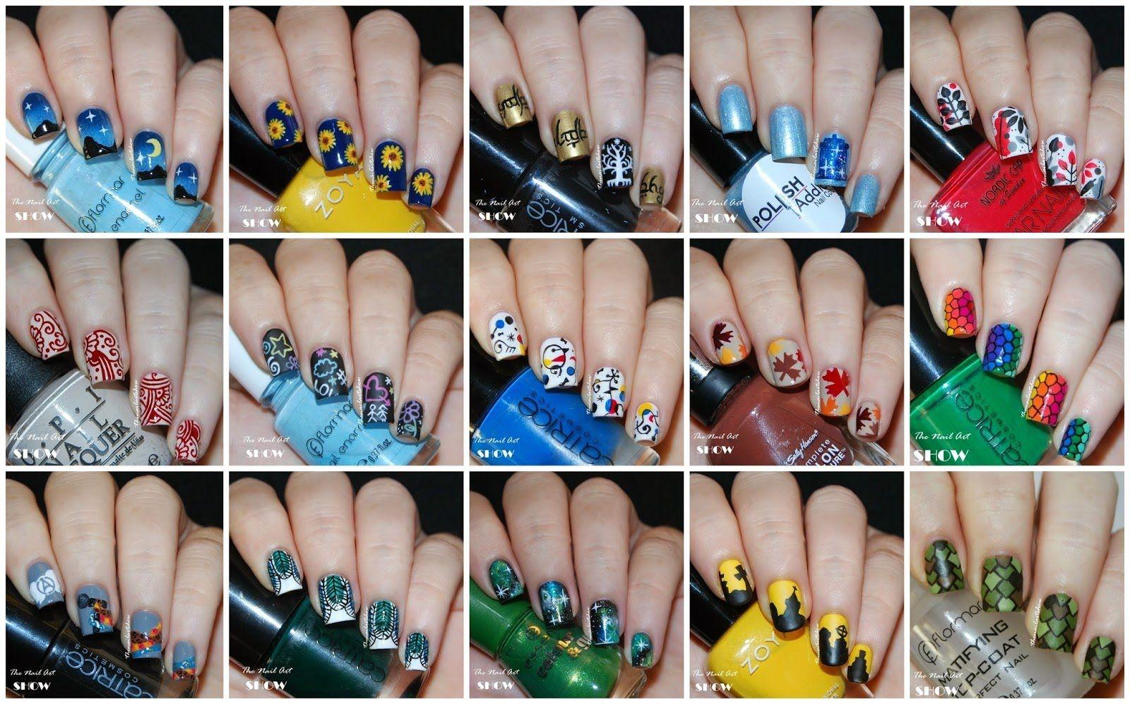 Nail Art Designs Compilation |Colorful| ☆ Nagel Art 2015 Part 2 ...