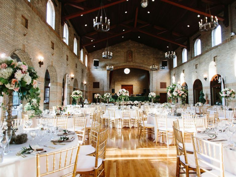 This Is the Average Cost of a Wedding Reception Venue in ...