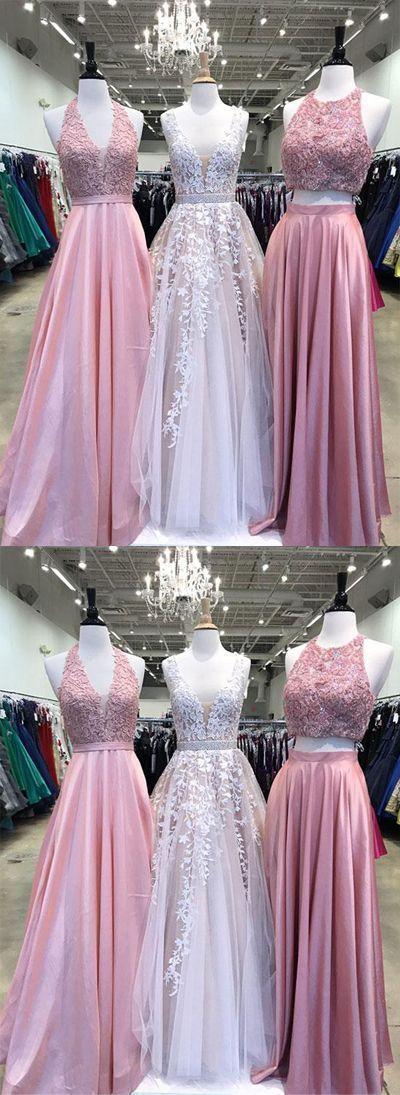 New Arrival Prom dresses, Long Lace Appliques Pretty Formal Elegant Prom Dresses, Party Evening dress #spitzeapplique