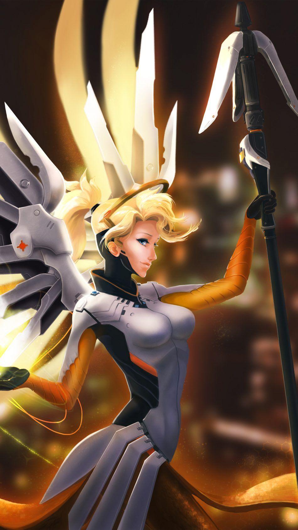 Mercy Overwatch Fan Artwork 4k Ultra Hd Mobile Wallpaper Mercy Overwatch Overwatch Wallpapers Mobile Wallpaper