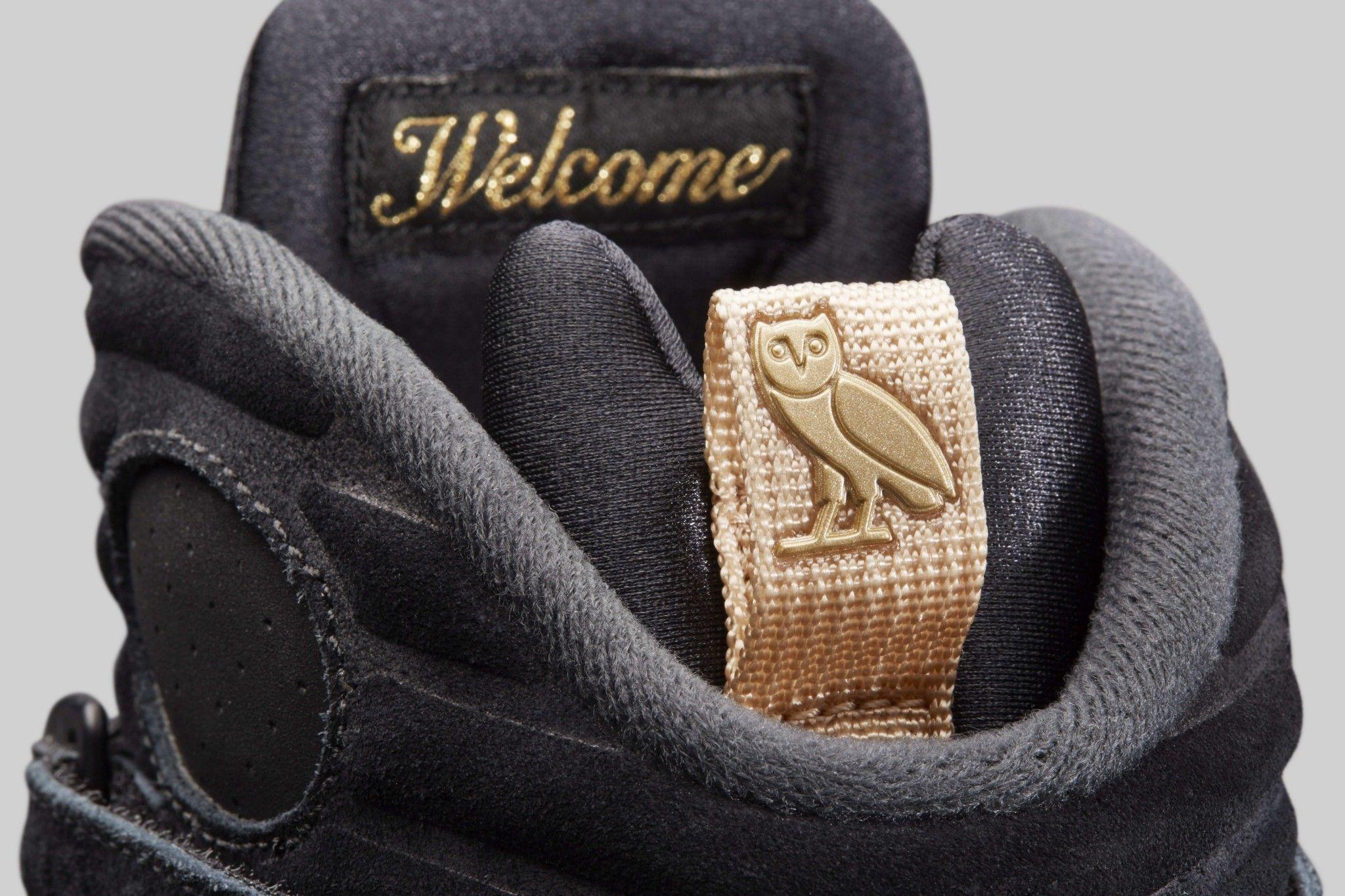 "19e8b784d58956 Air Jordan 8 ""OVO Black"""