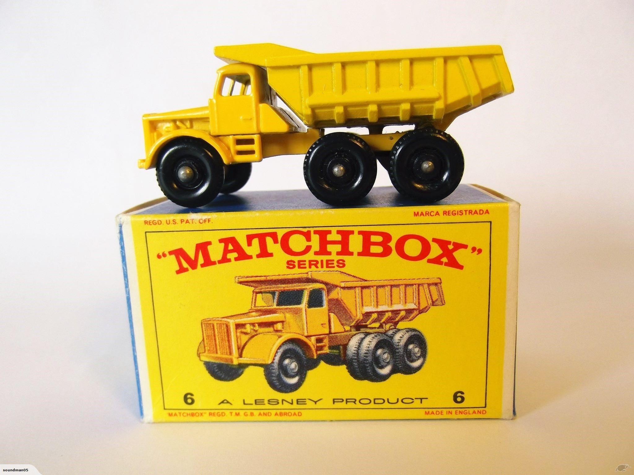 Lesney Matchbox 6 C Euclid Quarry Truck Trade Me