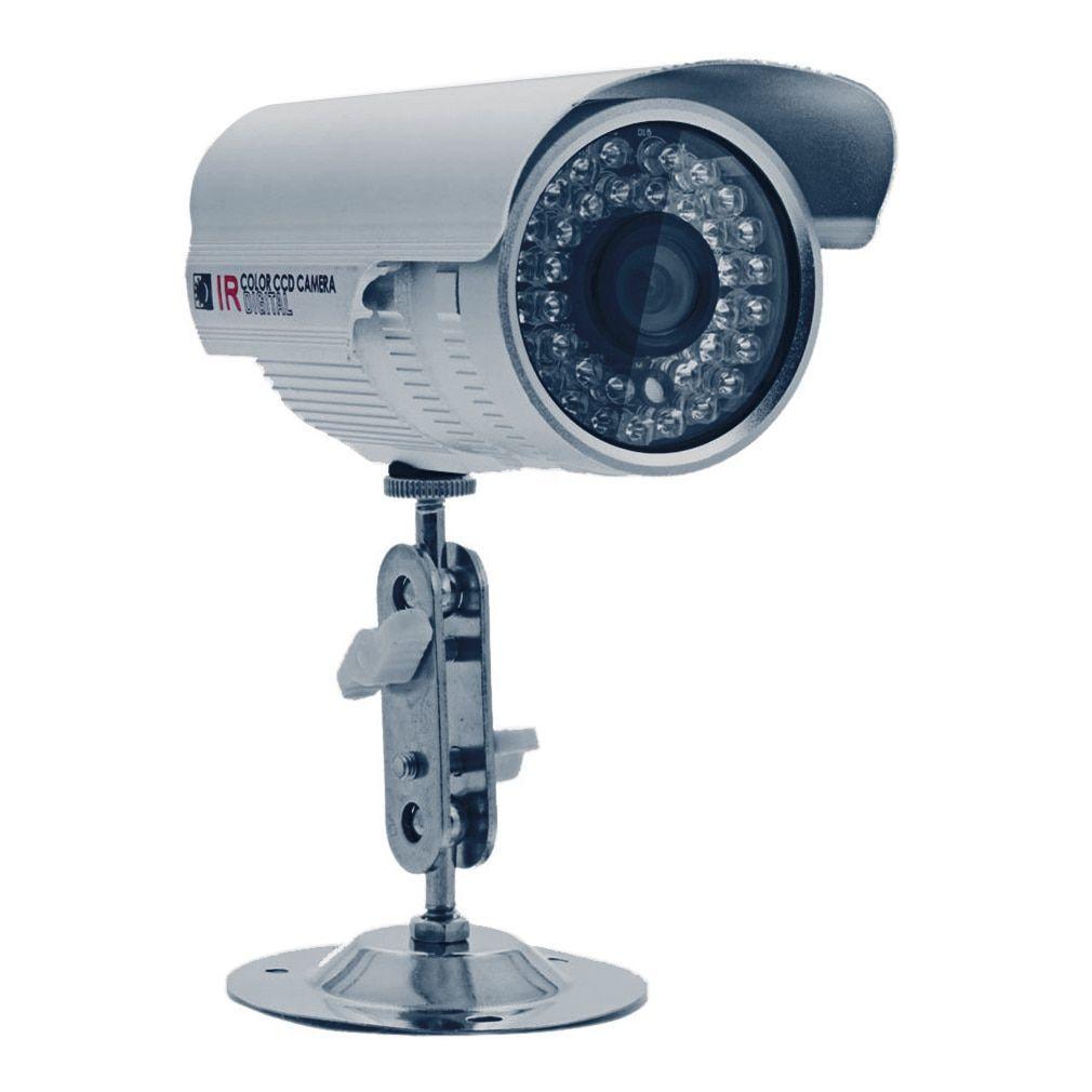 1200TVL Cctv Waterproof Outdoor IR Night (Black) Vision Surveillance ...