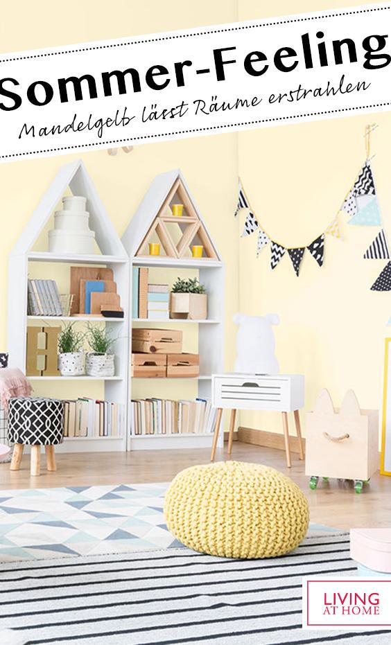 Wandfarbe In Mandelgelb In 2020 Schoner Wohnen Wandfarbe Wandfarbe Kinderzimmer Einrichten Und Wohnen