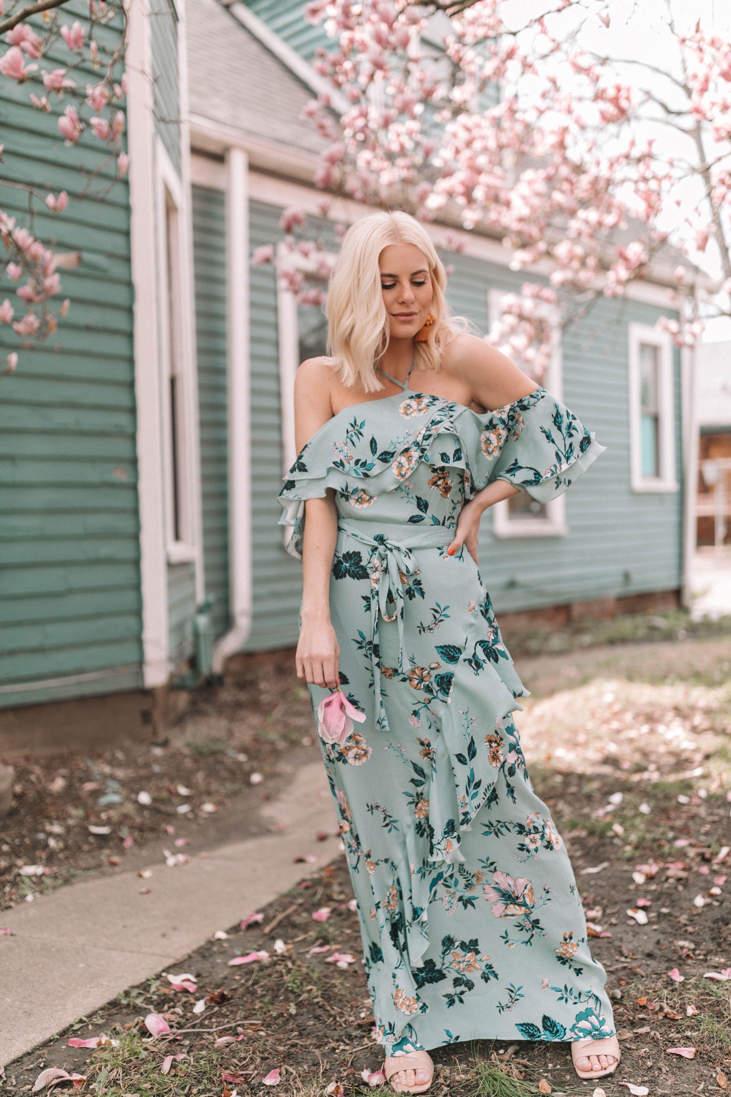 Wedding attendee dresses  Wedding Season  Fashion and Lifestyle Bloggers  Pinterest  Floral