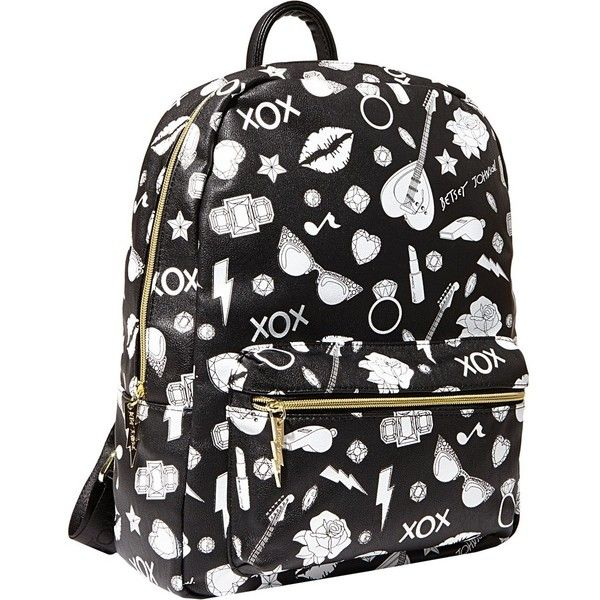 065e484dc8c Betsey Johnson Color Me Betsey Backpack ( 59) ❤ liked on Polyvore featuring  bags,