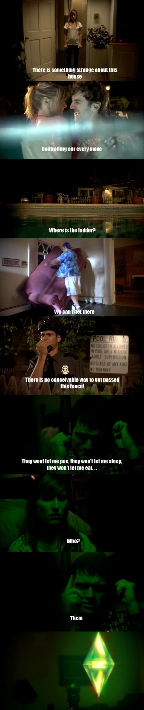 The Sims Real Life - LOL--- I want this movie!!! and they should make it good.