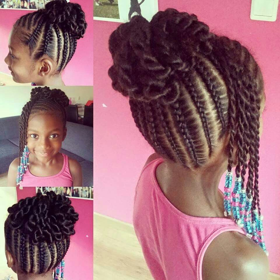 Kids Hairstyles For Girls Glamorous Pin On Braids  Pinterest  Kid Hairstyles Girl Hairstyles And Hair