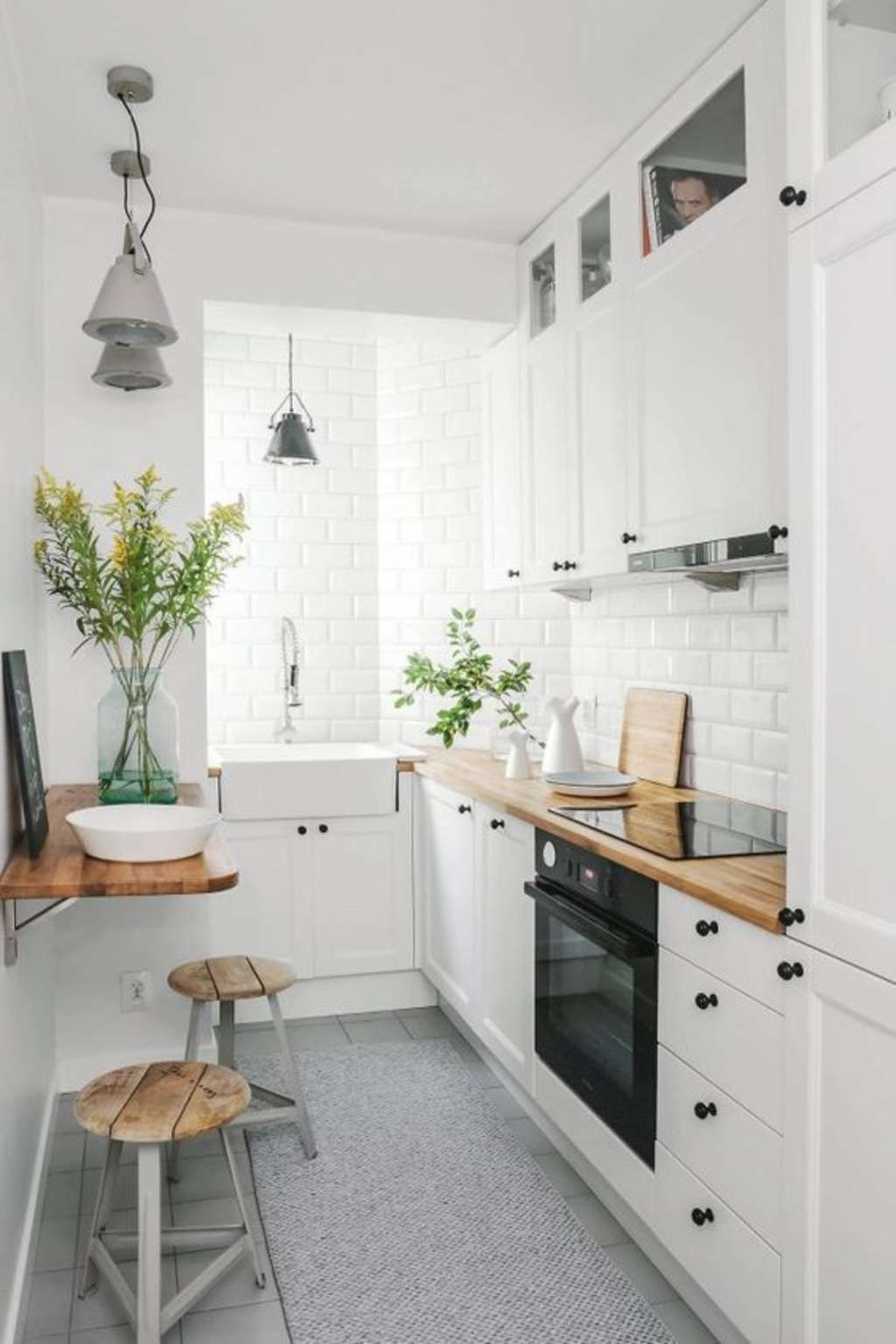 10 Of The Smartest Small Kitchens We Ve Ever Seen Galley Kitchen Design Small Apartment Kitchen Small Space Kitchen