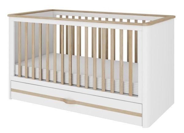 Babybett Rune 140x70 mit Bettkasten Baby, Babyzimmer