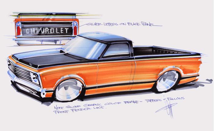 Worksheet. Chip Foose  de 50 bocetos para OverHaulin  Bocetos Grandes