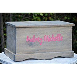 Laser End Personalized Kids Toy Box Children S