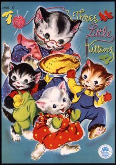 The Three Little Kittens Board Game Vintage 1978 Storybook Classic Complete Cadaco Board Games Little Kittens Classic Games