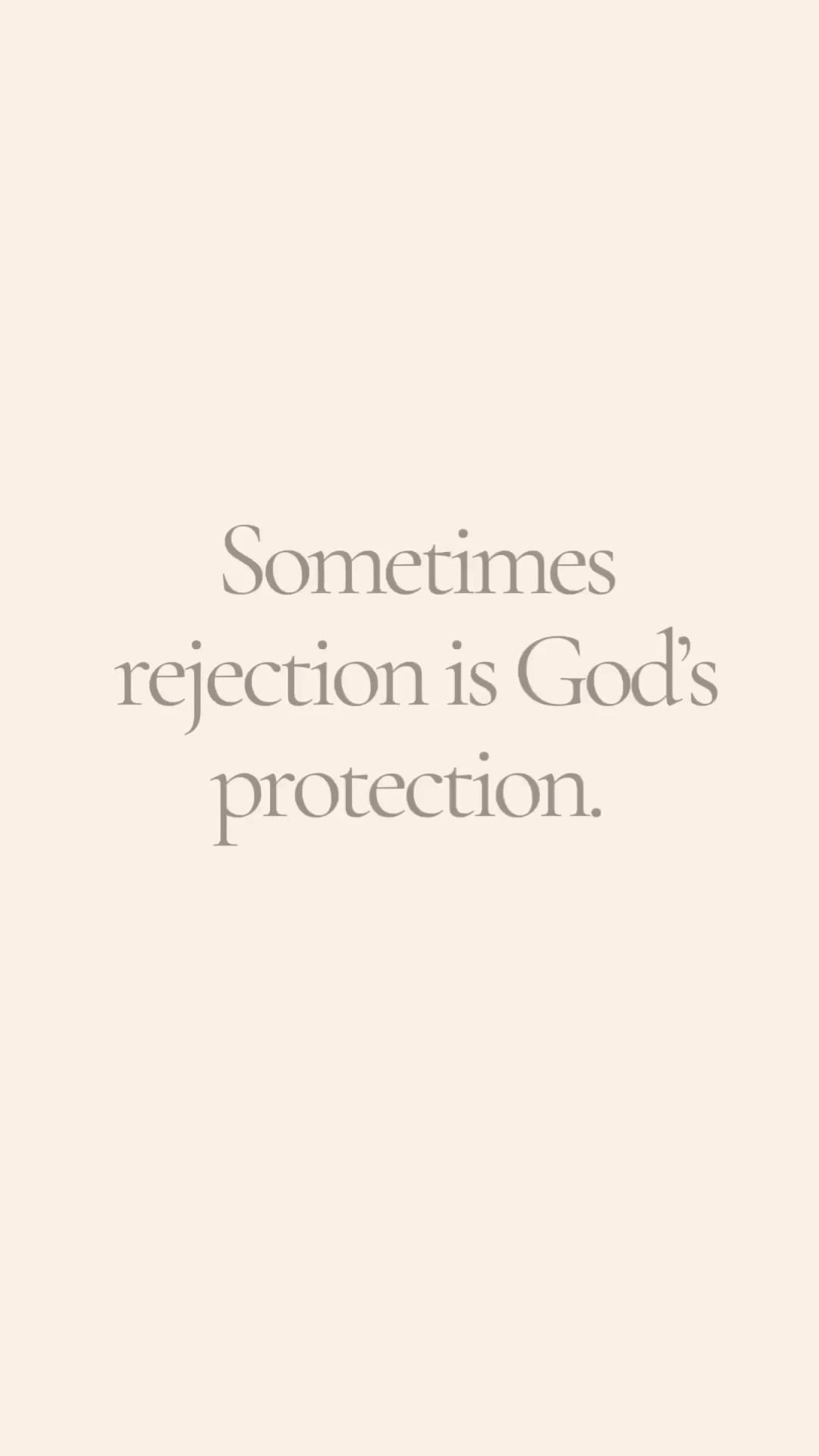 Protection and rejection
