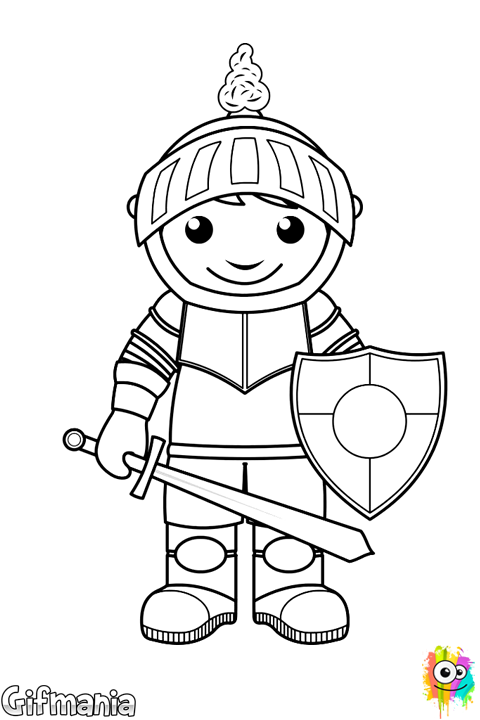 caballero infantil #caballero #fantasia #dibujo | Dibujos ...