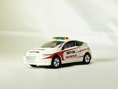 TOMICA Race Track Car Series Honda CR-Z SAFETY CAR No. 86 White Color