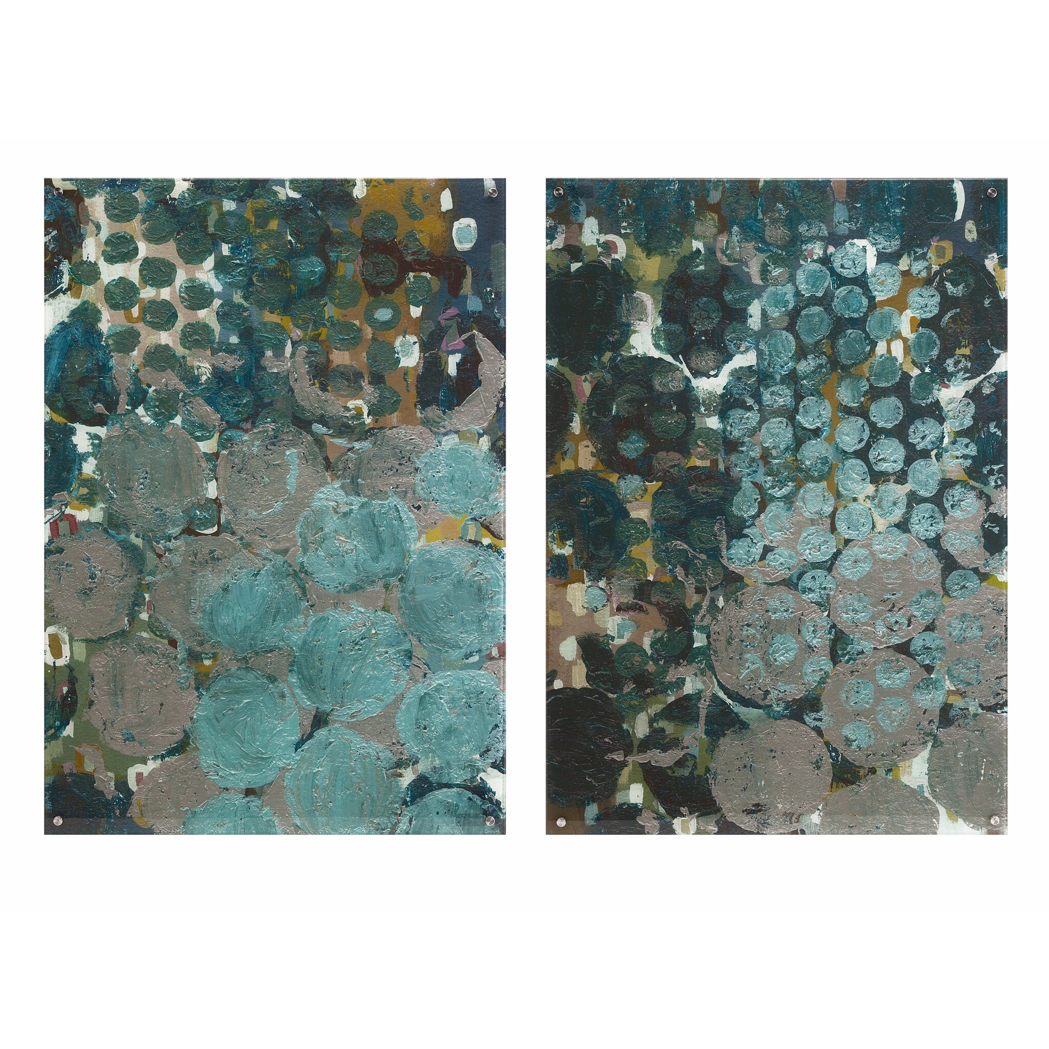 Imax callais acrylic floating wall art ast products