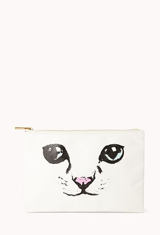 Cat Lady Pouch | FOREVER 21