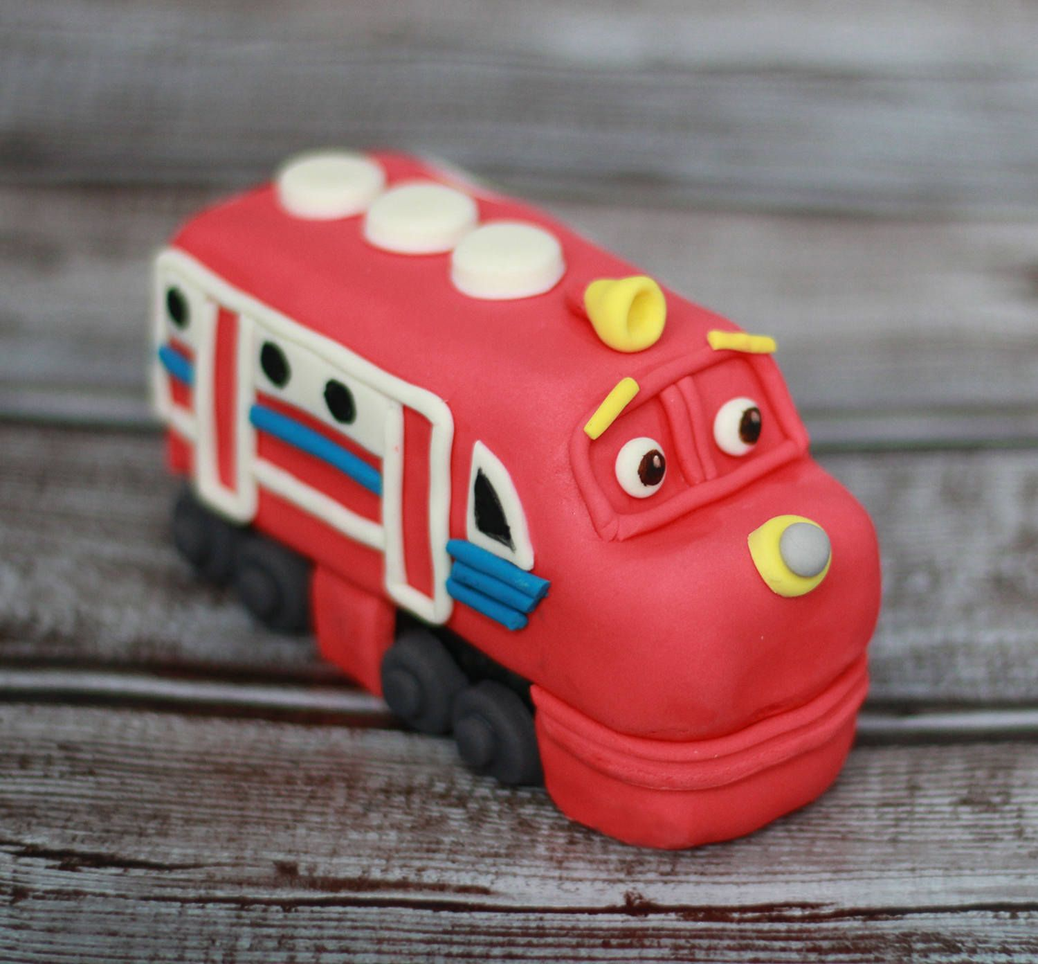 Chuggington Train edible cake topper Any character of Chuggington