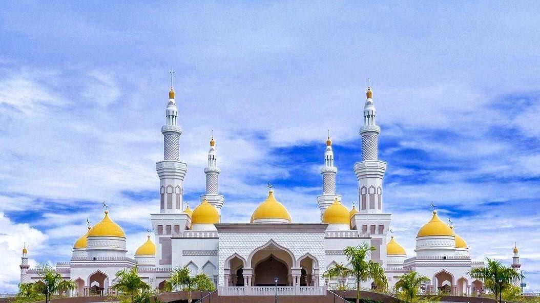 Grand Mosque Cotabato City Philippines Love Instagood Photooftheday Beautiful Grand Mosque Cotabato City P Grand Mosque Cotabato City Mosque