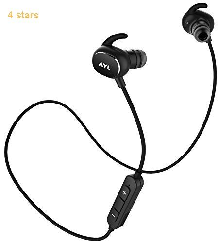Bluetooth Headphones Lightweight Ax8 V4 1 Wireless Sport Stereo In Ear Noise Cancelling Sweatproof Headset With Apt X Mic For Ipho Best Bluetooth Headphones Wireless Earbuds Headphones