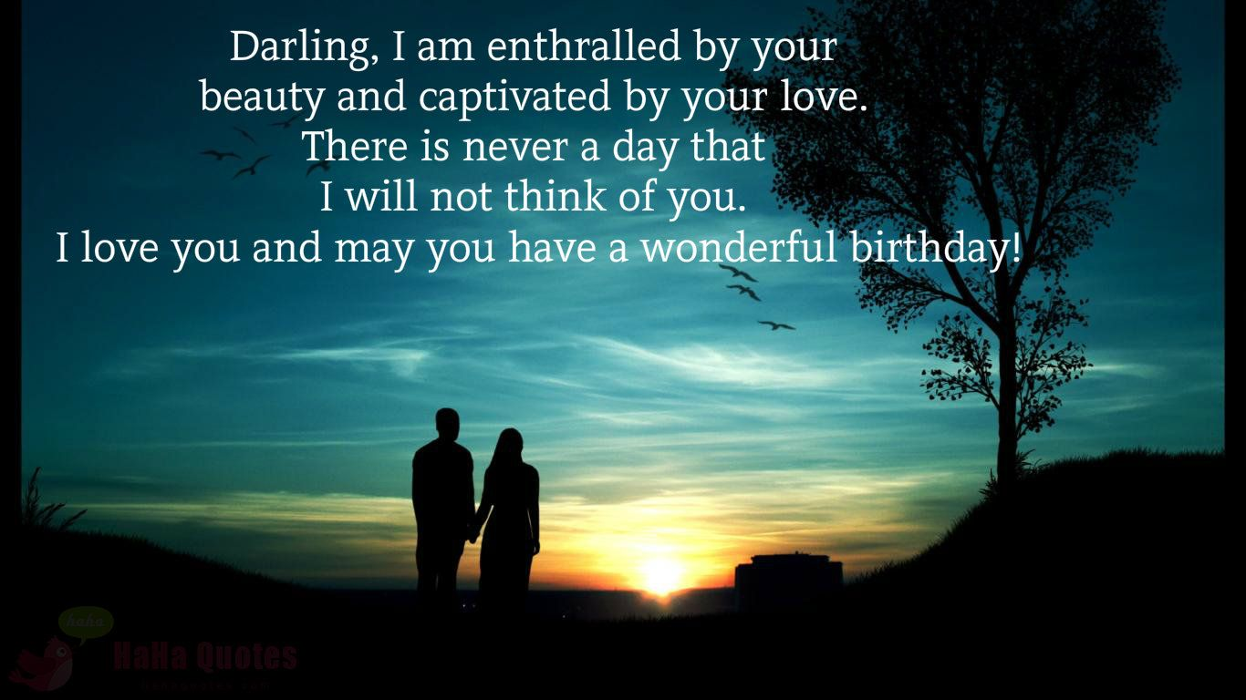 Happy birthday messages for her girlfriend lover darling gf