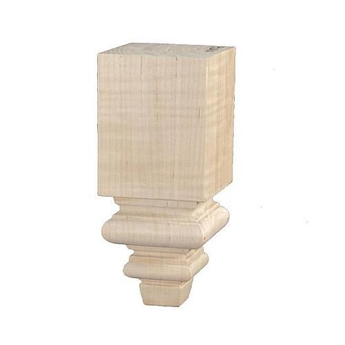 Traditional 10 1 4 Inch Square Furniture Leg Maple Furniture Legs Wood Furniture Legs Wooden Furniture Legs