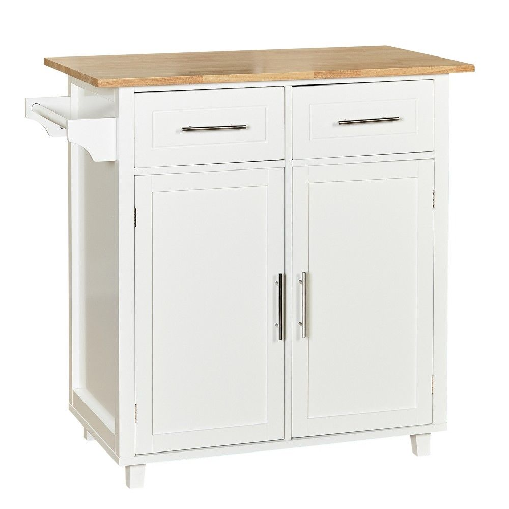 Malibu kitchen cart white buylateral pinterest kitchen carts