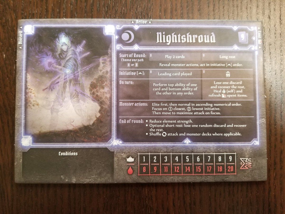 Gloomhaven Nightshroud Google Search With Images Turn Ons