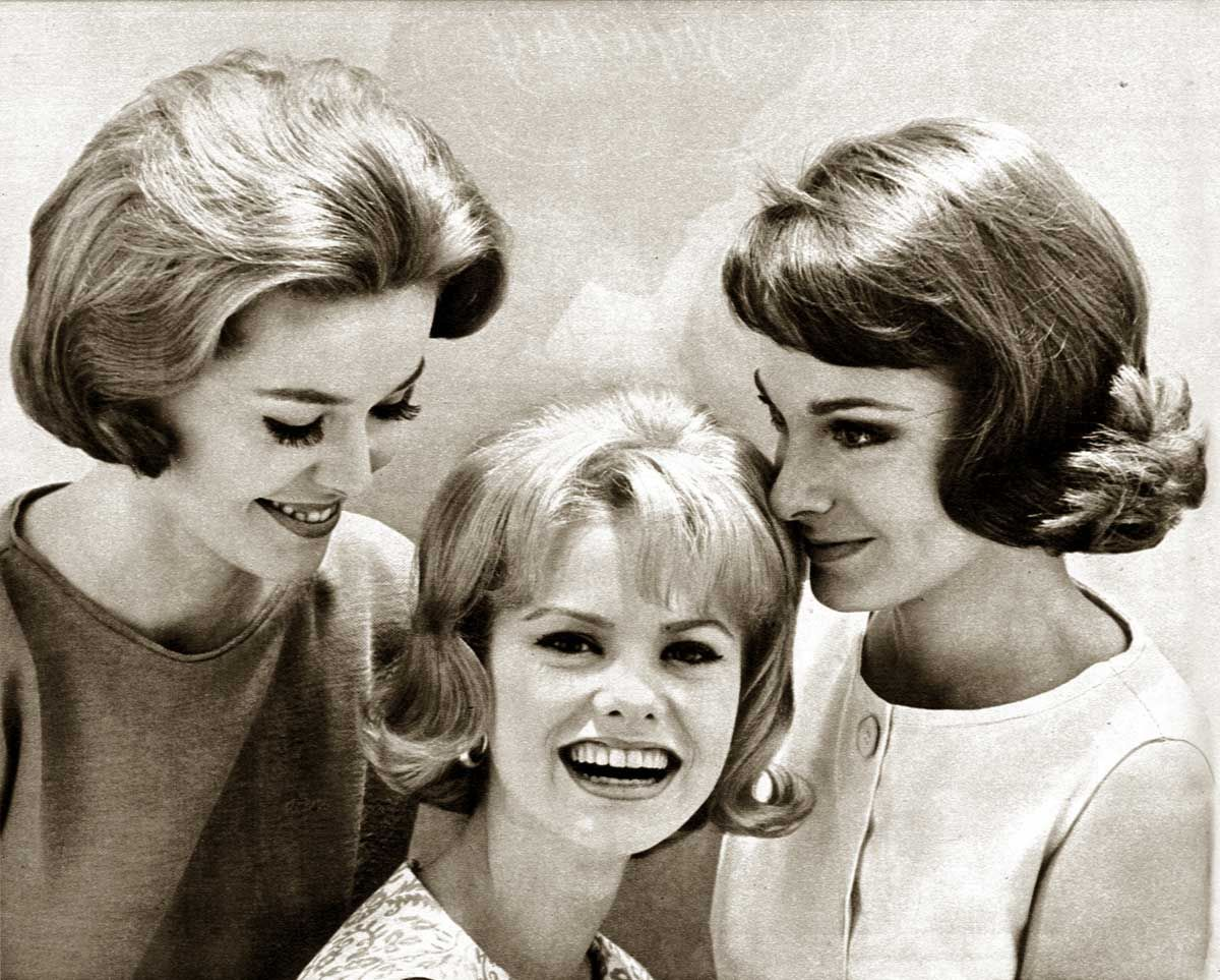 1960s Hairstyles Six Popular Coiffures In 1962 1960s Hair Vintage Hairstyles Hair Styles