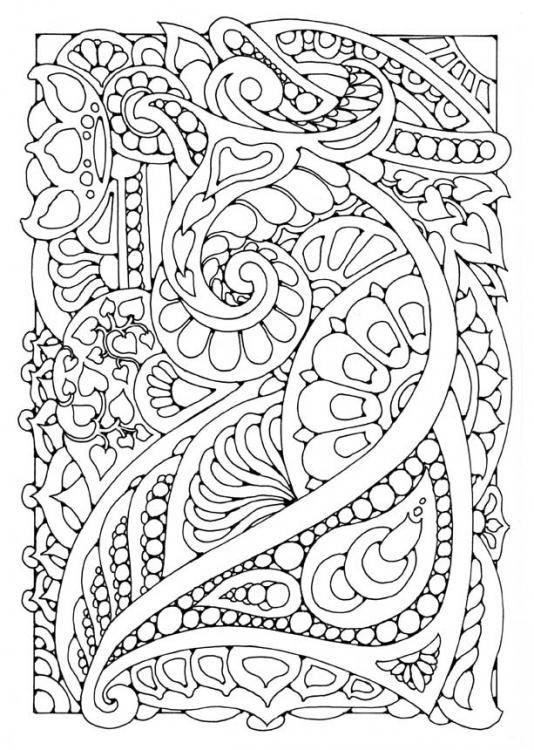 doodle coloring page | Pegs page | Pinterest | Mandalas, Colorear y ...