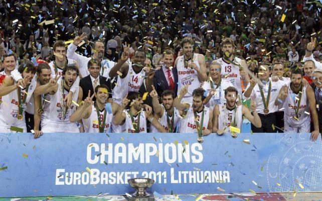 Zapatero felicita a la selección de baloncesto de España, campeona de Europa – Baloncesto – Noticias, última hora, vídeos y fotos de Baloncesto en lainformacion.com